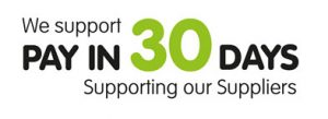 We Support Pay In 30 Days Supporting our Suppliers
