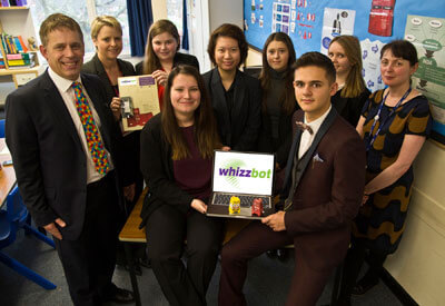 Yee Group sponsors John Taylor High School Young Enterprise team – Whizzbot