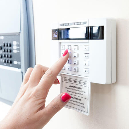 intruder alarm panel
